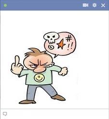 Angry Guy Swearing